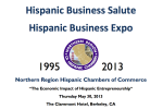 Hispanic Business Salute 2013