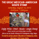 Indulge yourself in the wines from 15 Mexican- American Vintners at The Great Mexican-American Grape Stomp!