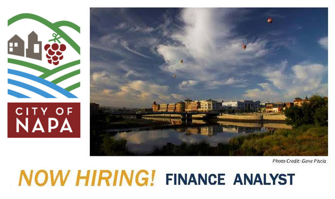 city-of-Napa Finance Analyst Wanted